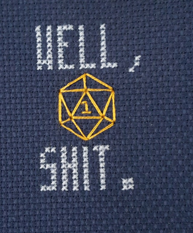 Nat-1 dice roll