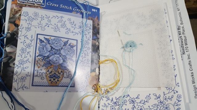 stitch a card