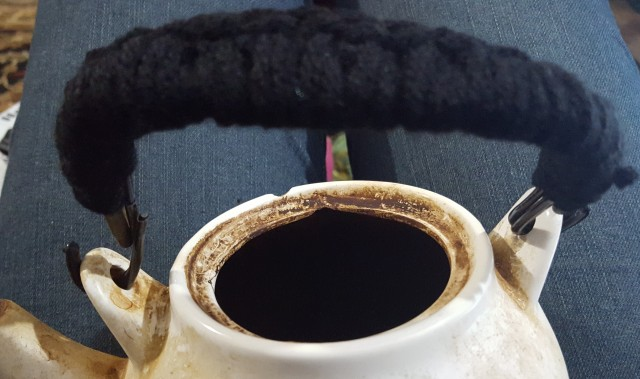 diy crochet handle