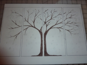 Tree QuadTich Outline