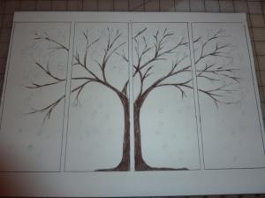 Tree QuadTich Outline