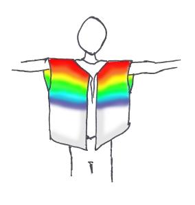 rainbow coat of DOOM
