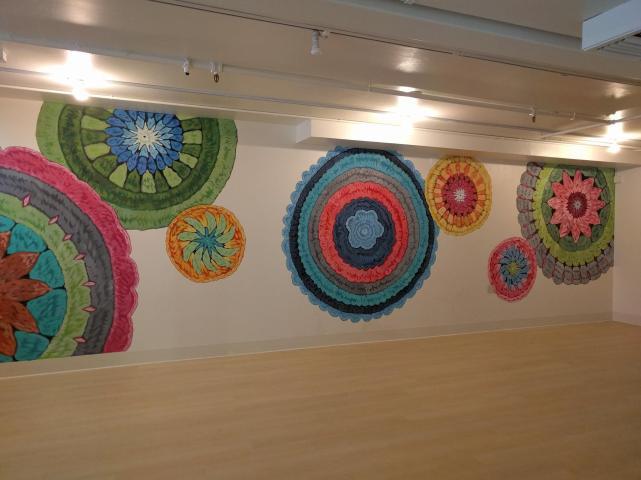 Cozy's wall art