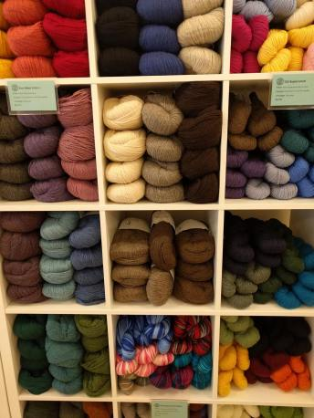 Cozy's selection of yarn