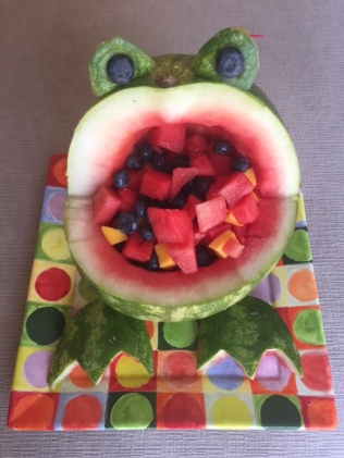 frog-watermelon