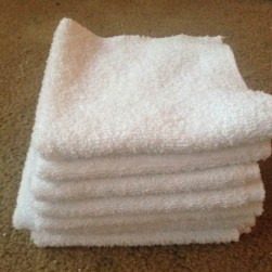 refugee washcloths