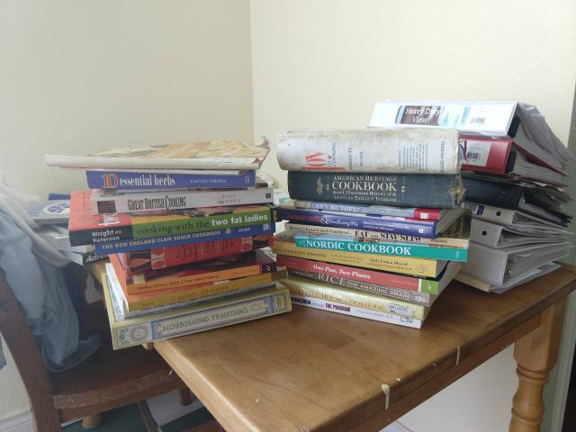 Stack of Cookbooksjpg